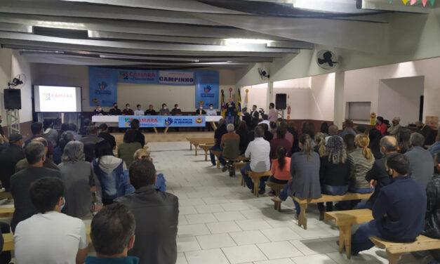 Campinho em Araranguá participa do projeto Câmara na Comunidade