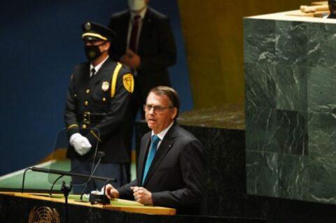 Discurso marcado por mentiras, delírios e intolerância de Jair Bolsonaro na Assembleia da ONU