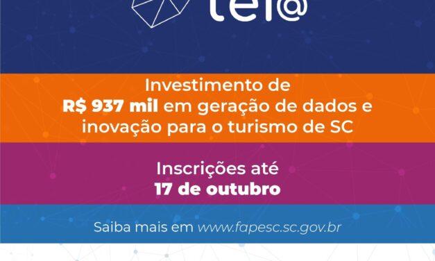 """Programa """" Tei@"""" investe no setor de turismo em SC, professores dos IFC podem ajudar na captação dos recursos"""