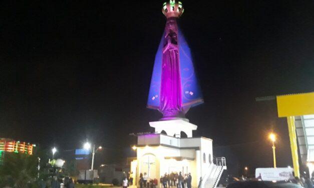 Igreja e Estátua de Nossa Senhora Aparecida inaugurada em Maracajá
