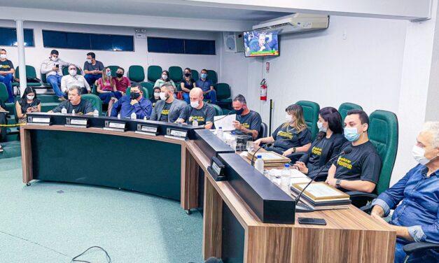 Câmara Municipal de Sombrio promove sessão solene em comemoração ao Dia do Professor